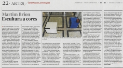 Article Jornal de Letras Maria Leonor Nunes Martim Brion