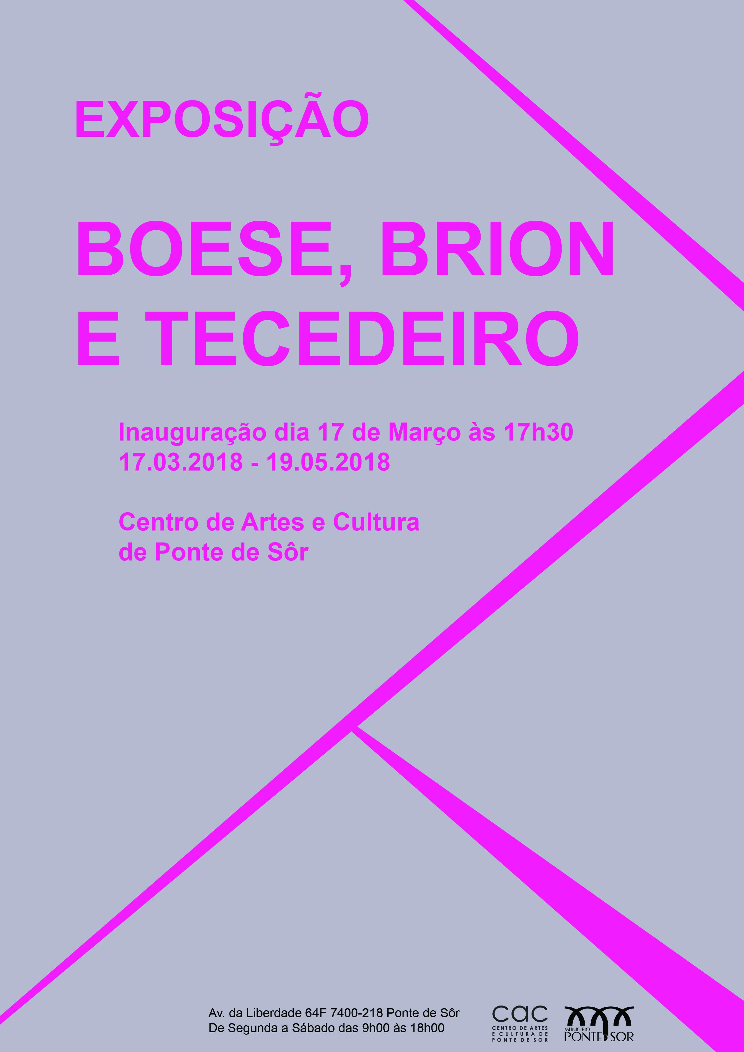 Martim Brion, Pedro Boese, André Tecedeiro