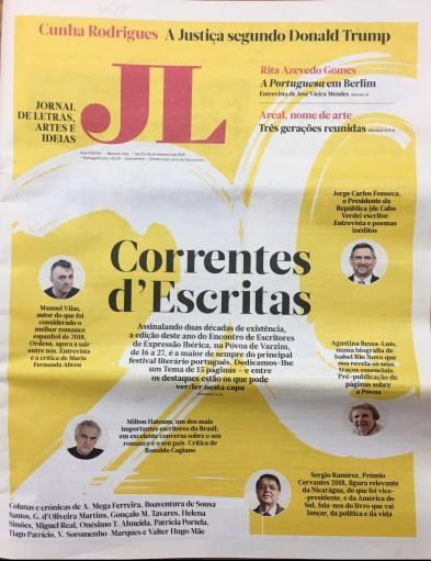Jornal de Letras - Leonor Nunes - Martim Brion