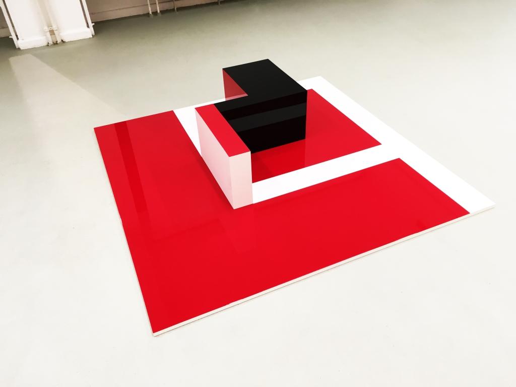 Flat Cube 2 - Martim Brion - Sculpture